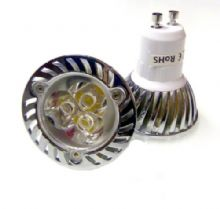 JSG Accessories GU10 LED Bulb 3W 3X1W Day White 6000-6500K Ideal For Replacing 35W Halogen Bulbs